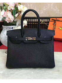 Hermes original togo leather birkin 30 bag H30-1 black