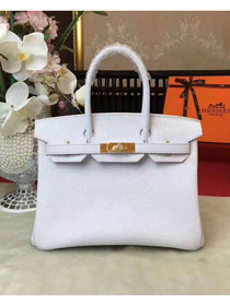 Hermes original togo leather birkin 30 bag H30-1 white