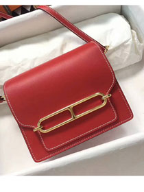 Hermes roulis original togo leather R18 red