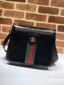 2018 GG original suede ophidia shoulder bag 523658 black