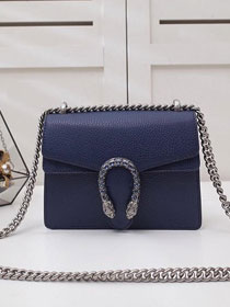 GG original leather dionysus mini shoulder bag 421970 royal blue