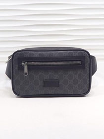 GG original canvas soft supreme belt bag 474293 black