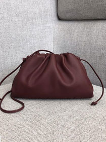 2019 BV original calfskin small 20 pouch 585852 bordeaux