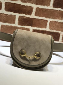2019 GG original suede leather belt bag 384820 khaki