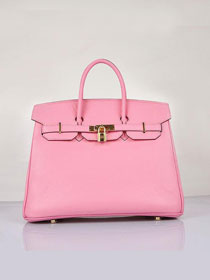 Hermes original togo leather birkin 30 bag H30-1 pink