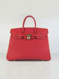 Hermes original togo leather birkin 30 bag H30-1 red