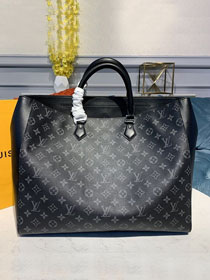 Louis vuitton original monogram eclipse grand sac tote bag M44733