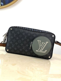 2020 louis vuitton original monogram eclipse messenger bag M68688