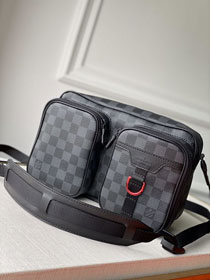 Louis vuitton original damier graphite messenger bag N40280