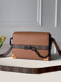 2020 Louis vuitton original calfskin soft trunk M30718 coffee
