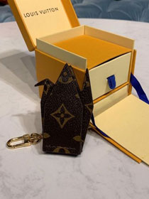 Louis vuitton monogram canvas pendant P00001