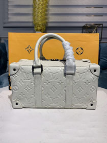 Louis vuitton original calfskin runway handbag m44483 white