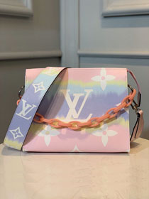 Louis Vuitton monogram canvas escale toiletry pouch 26 M69138 pastel