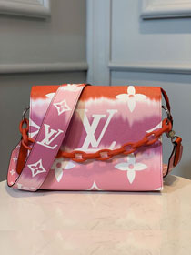 Louis Vuitton monogram canvas escale toiletry pouch 26 M69138 rouge