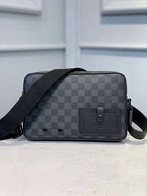 Louis vuitton original damier graphite alpha messenger bag N40188