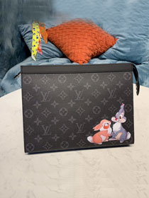 Louis vuitton original monogram eclipse voyage pochette M61692