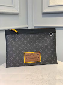 Louis vuitton original monogram eclipse pochette M69256