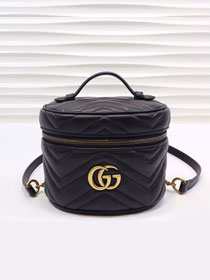 GG original calfskin marmont mini backpack 598594 black