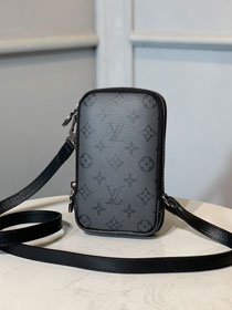 Louis vuitton original monogram double phone pouch M69534