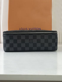 Louis vuitton original damier graphite packing cube mm N40182