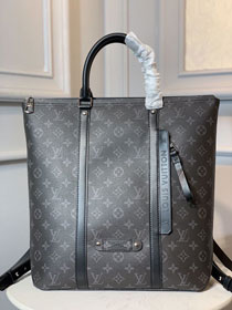 Louis vuitton original monogram eclipse versatile tote backpack M45221