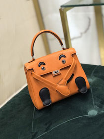 Hermes handmade original swift leather kelly doll bag KD0022