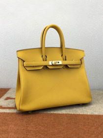 Hermes original epsom leather birkin 30 bag H30-3 amber