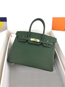 Hermes original epsom leather birkin 30 bag H30-3 canopee