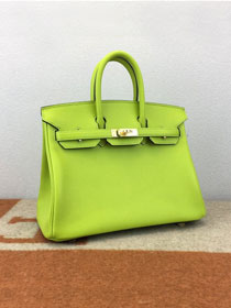 Hermes original epsom leather birkin 30 bag H30-3 kiwf green