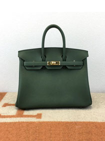 Hermes original epsom leather birkin 30 bag H30-3 vert anglais