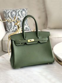 Hermes original togo leather birkin 30 bag H30-1 canopee