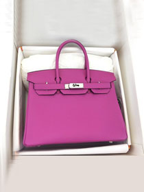 Hermes original togo leather birkin 30 bag H30-1 rose magnolia