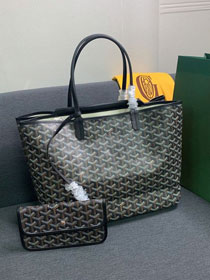 Goyard canvas isabelle tote pm bag GY0025 black