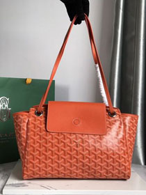 Goyard canvas rouette shoulder bag GY0004 orange