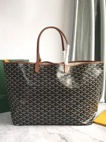 Goyard original canvas saint louis tote bag gm GY0027 black&brown