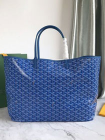 Goyard original canvas saint louis tote bag gm GY0027 blue