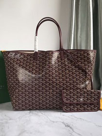 Goyard original canvas saint louis tote bag gm GY0027 bordeaux