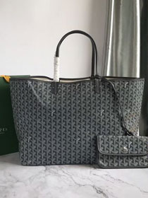 Goyard original canvas saint louis tote bag gm GY0027 grey