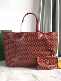 Goyard original canvas saint louis tote bag gm GY0027 wine red