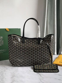 Goyard original canvas saint louis tote bag pm GY0028 black