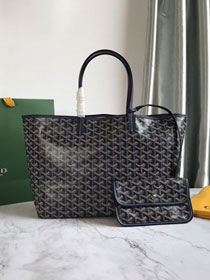 Goyard original canvas saint louis tote bag pm GY0028 royal blue