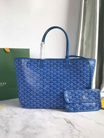 Goyard original canvas saint louis tote bag pm GY0028 blue