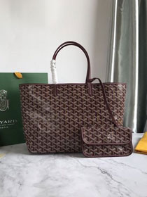 Goyard original canvas saint louis tote bag pm GY0028 bordeaux