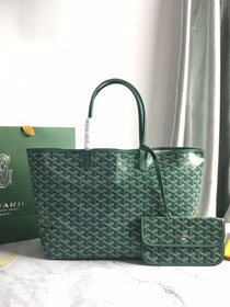 Goyard original canvas saint louis tote bag pm GY0028 green