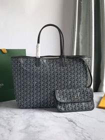 Goyard original canvas saint louis tote bag pm GY0028 grey