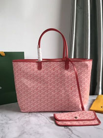 Goyard original canvas saint louis tote bag pm GY0028 pink