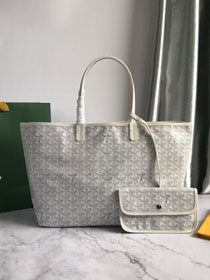 Goyard original canvas saint louis tote bag pm GY0028 white