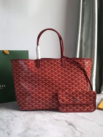 Goyard original canvas saint louis tote bag pm GY0028 wine red