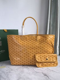 Goyard original canvas saint louis tote bag pm GY0028 yellow
