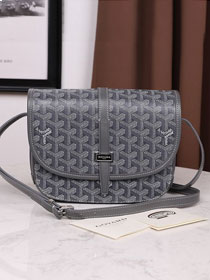 Goyard canvas belvedere bag GY0012 grey